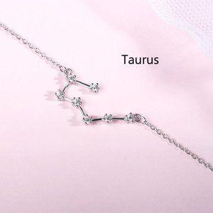 NEW 925 Sterling Silver Zodiac Bracelet-Taurus